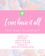 I Can Have it All Planner book cover