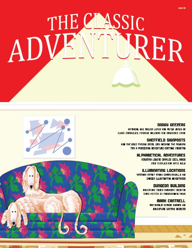 Ver The Classic Adventurer - Issue 04 por Mark James Hardisty