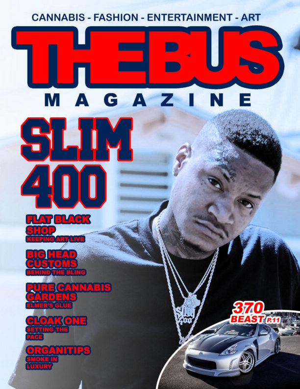 View THE BUS MAGAZINE ft SLIM 400 by Aaron Phillips