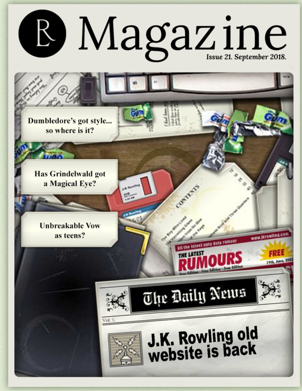 Bekijk The Rowling Library - Issue #21 September 2018 op The Rowling Library