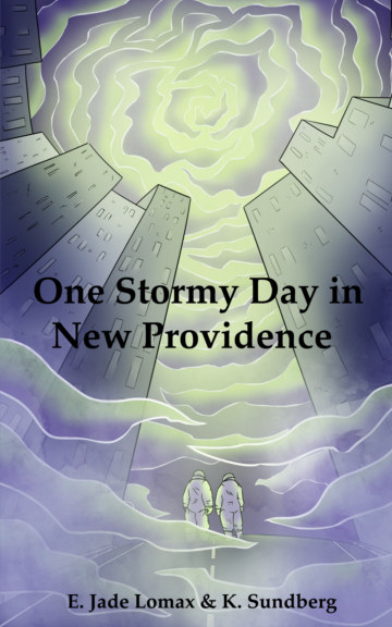 View One Stormy Day in New Providence by E. Jade Lomax