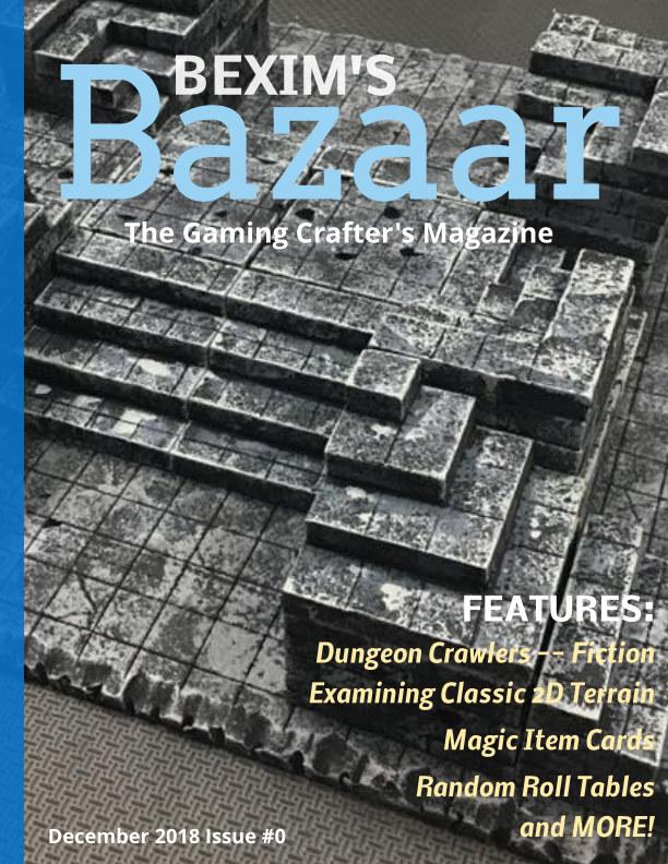 Bekijk Bexim's Bazaar Issue #0 op DM Jim