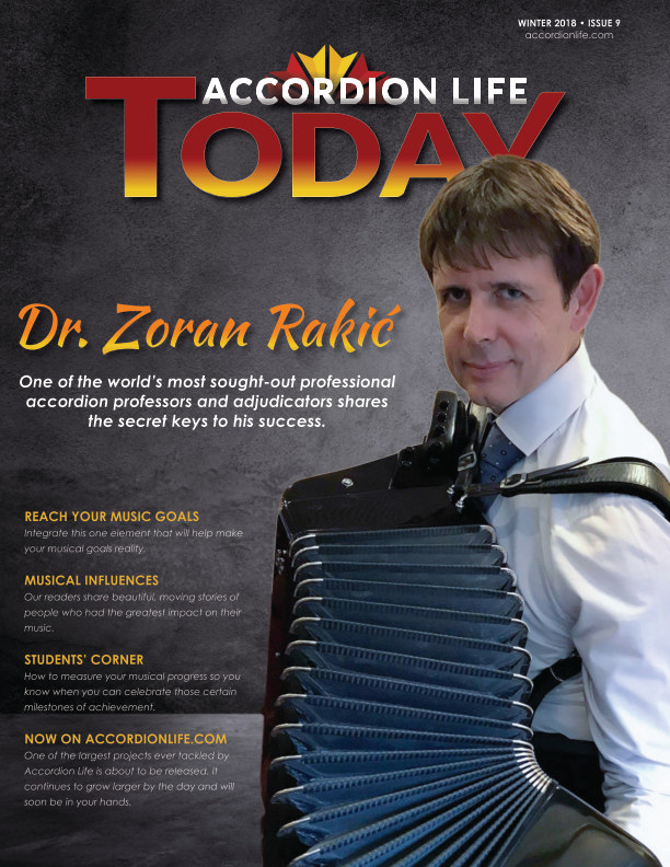 Accordion Life Today Winter 2018 by Accordion Life | Blurb Books Canada