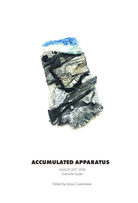 View Pratt UD #6: Accumulated Apparatus; Gabrielle Kupfer by Jonas Coersmeier; Editor