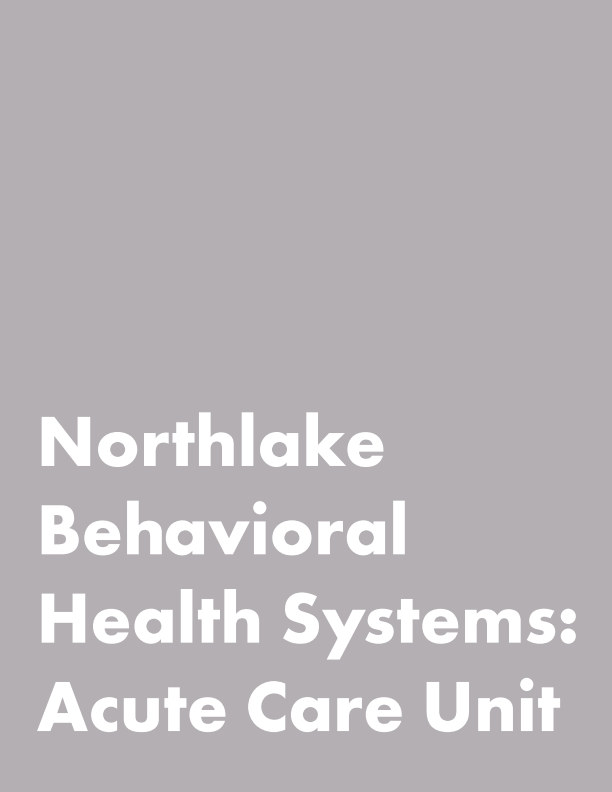 View Northlake Behavioral Health System by ID4758 - Section 2 - Seniors