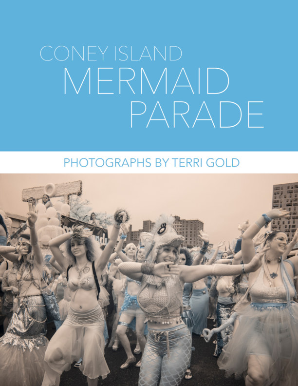 View Coney Island Mermaid Parade by Terri Gold