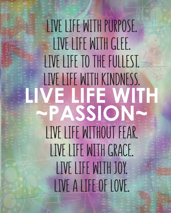 View JMA Planner - LIVE LIFE WITH PASSION by Julie McCullough
