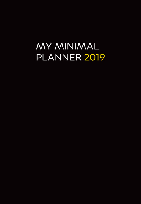 View My Minimal Planner 2019 by Danielle Murrell Cox