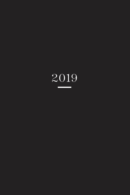 View 2019 Planner by Aino Horsma