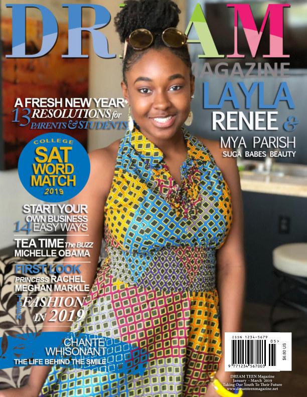 View DREAM TEEN Magazine by Tarran Carter