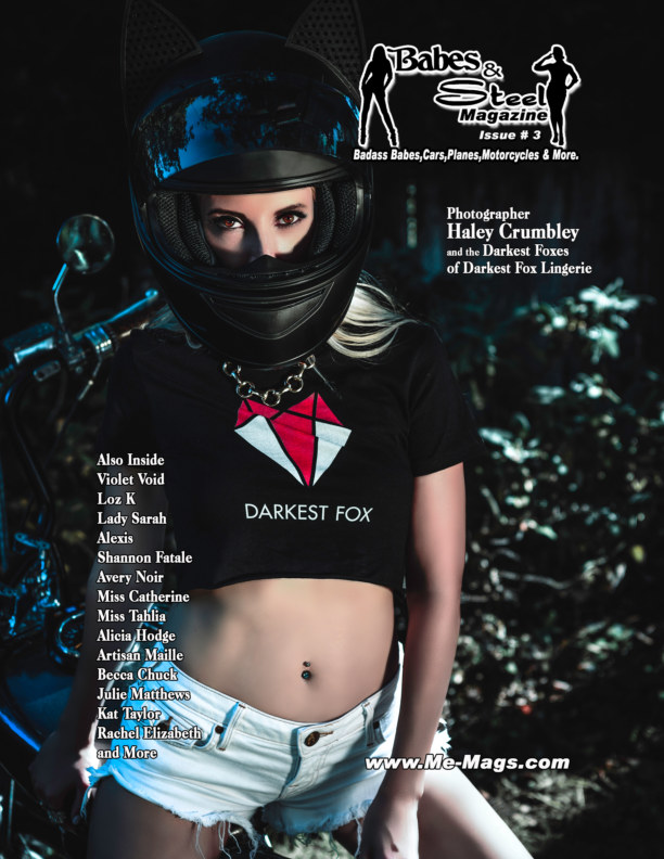 View Babes and Steel Magazine Issue 3 by Michael Enoches