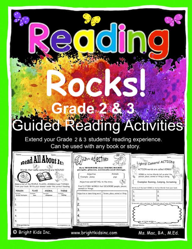 Ver Reading Rocks! Grade Two and Three!! por Ms. Mac