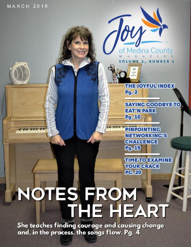 View Joy of Medina County Magazine March 2019 by Blake House Publishing, LLC