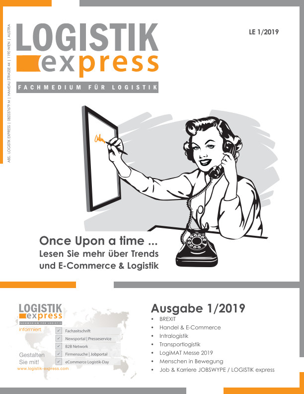 View LOGISTIK express Ausgabe 1/2019 by Markus Jaklitsch