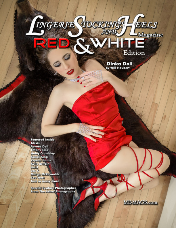 View Lingerie Stockings and Heels Magazine by Michael Enoches