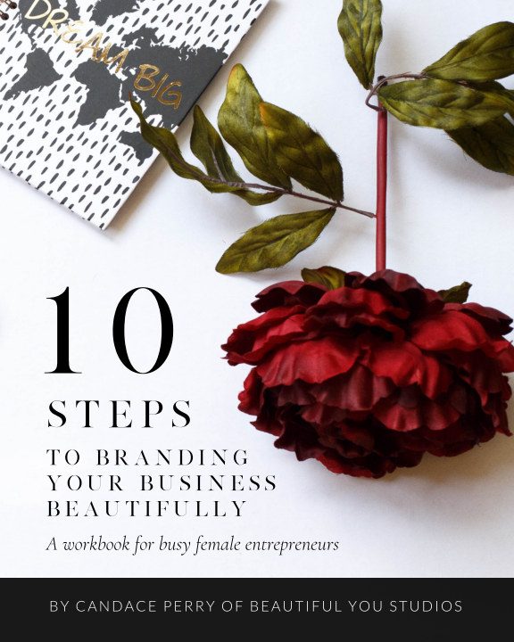 View 10 Steps to Branding Your Business Beautifully by Beautiful You Studios