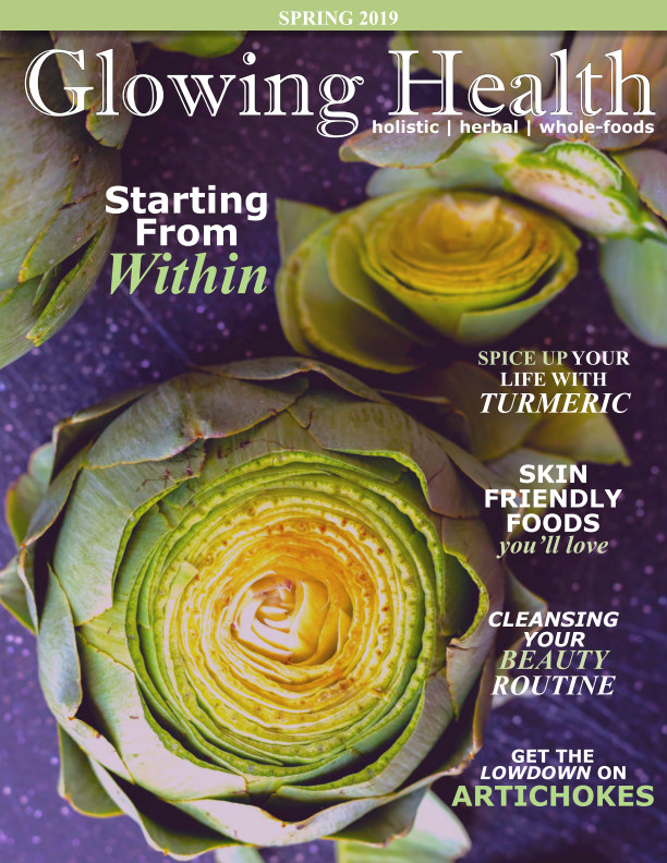 View Starting From Within - Spring 2019 by Glowing Health Magazine