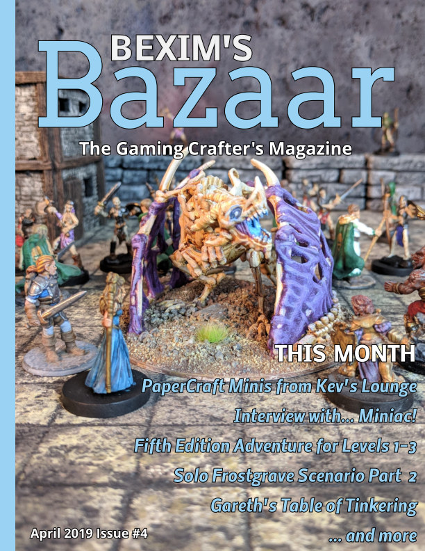 View Bexim's Bazaar Issue #4 by James Floyd Kelly