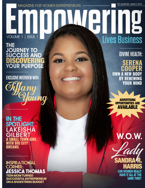 Ver Empowering Lives Business Magazine for Women Entrepreneurs por Sandra R. Harris