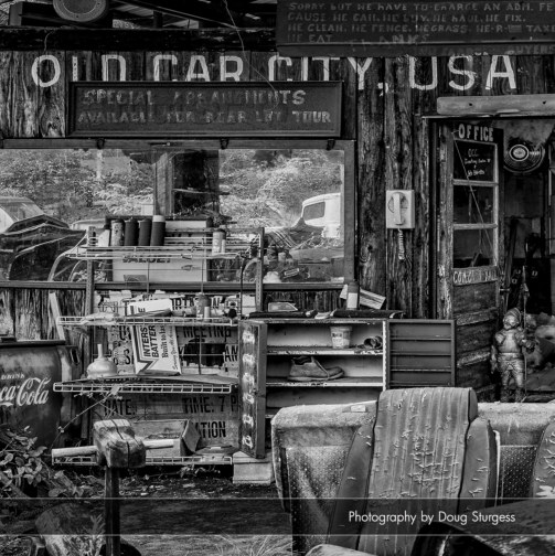 View Old Car City USA by DOUG STURGESS