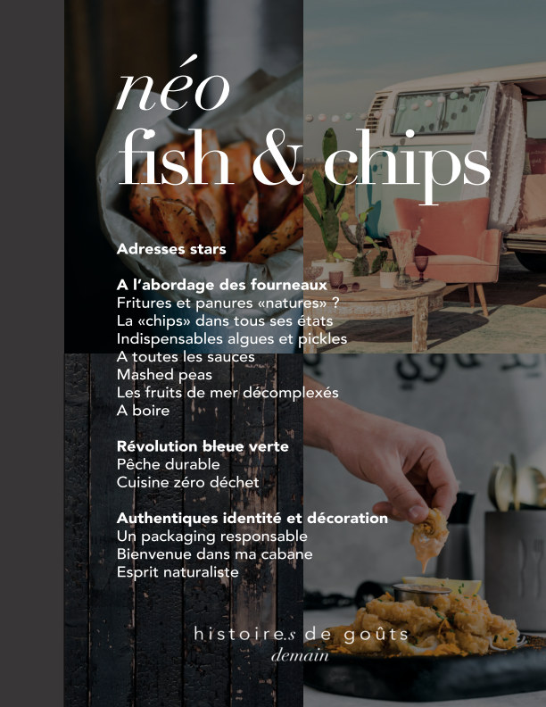 View Néo fish and chips - carnet d'inspiration by Histoires de Goûts - demain