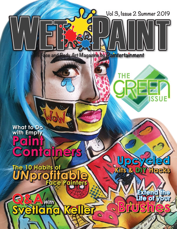 View Wet Paint Magazine Vol 3 Issue 2 Summer 2019 by Paintertainment, LLC