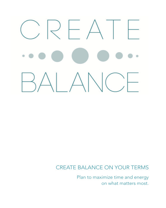 View Create Balance Planner by Marie Levey-Pabst