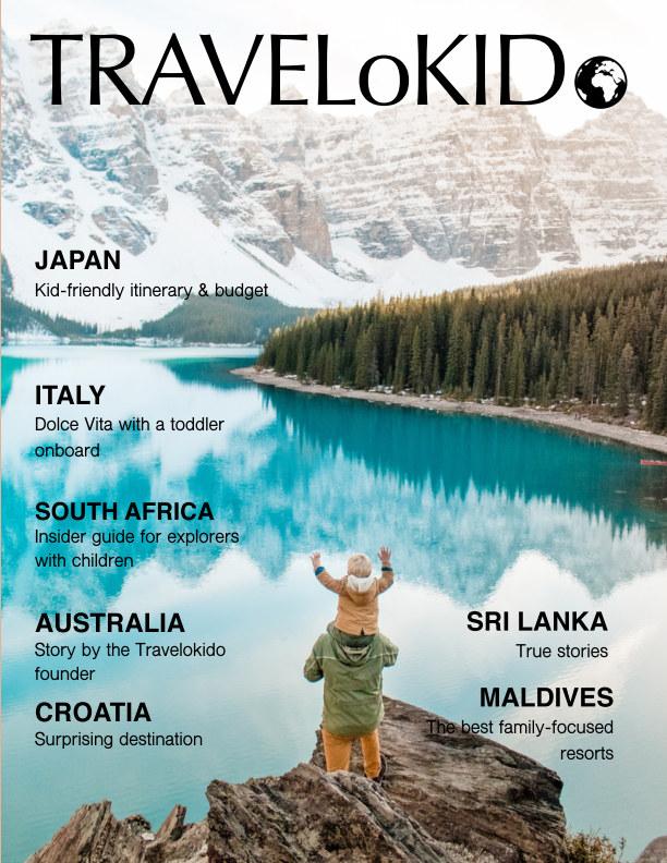 TraveloKido Magazine Volume 2 by Elena Cheremisenova   Blurb Books