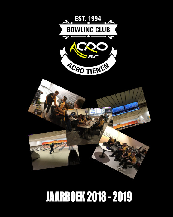 View Jaarboek 2018 - 2019 by Acro Bowling Club Tienen