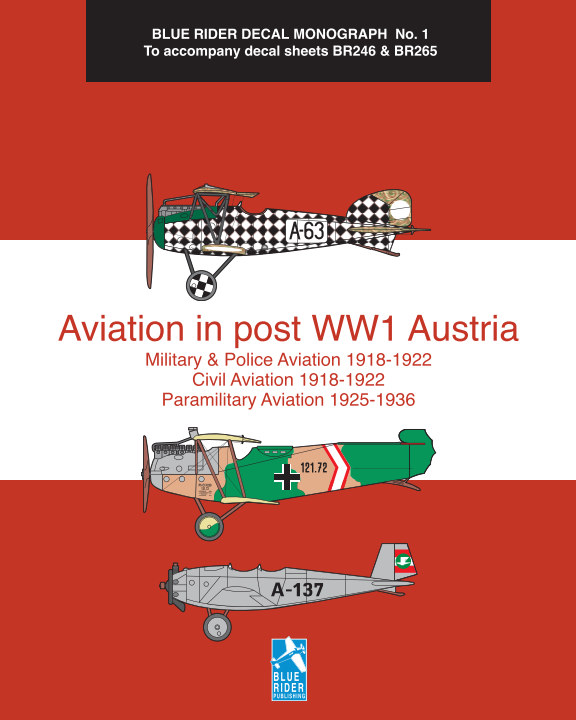 View Aviation in post WW1 Austria by Richard Humberstone