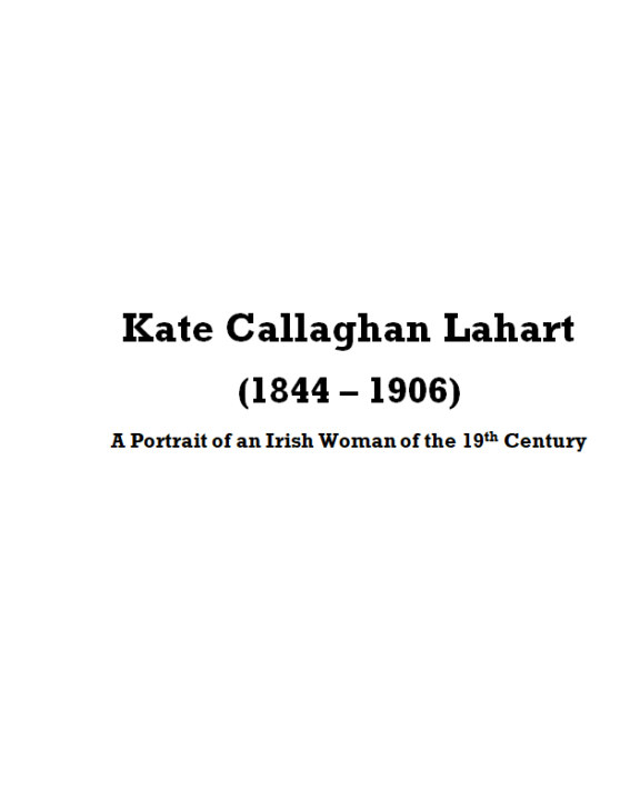View Kate Callaghan Lahart by Gerard Walsh