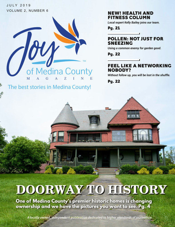 View Joy of Medina County Magazine July 2019 by Blake House Publishing, LLC