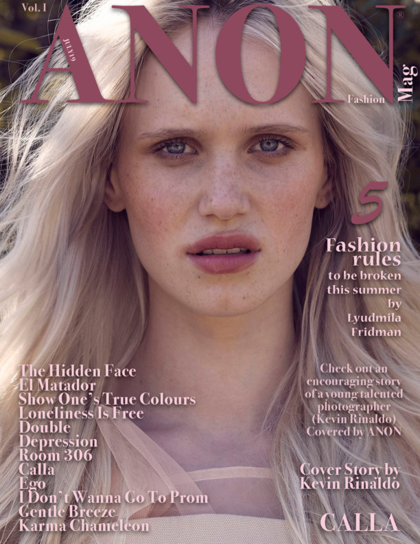 View ANON JULY19 Vol. I by ANON Fashion Magazine