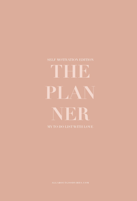 View The PLANNER - Self Motivation Edition by MOLLY LARSEN