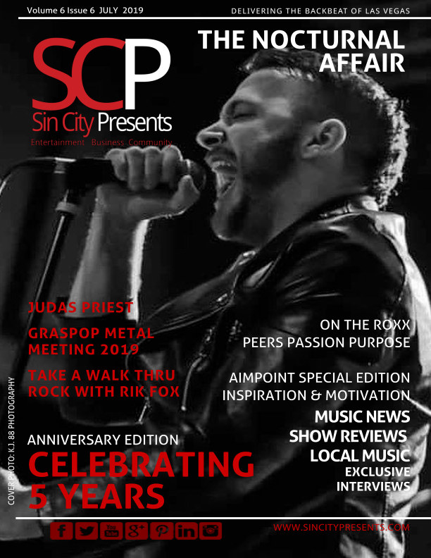 View Sin City Presents Magazine July 2019 5th Anniversary Issue by Sin City Presents