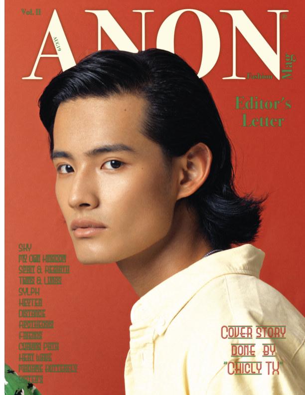View ANON AUG19 Vol. II by ANON Fashion Magazine
