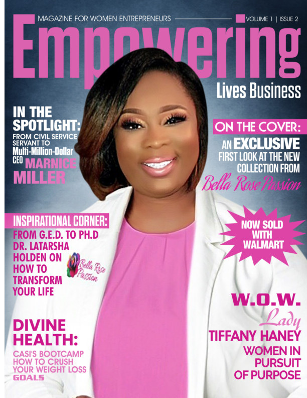 View Empowering Lives Business Magazine for Women Entrepreneurs by Sandra R. Harris