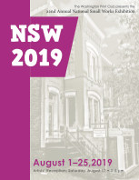 National Small Works 2019 book cover