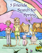 5 Friends Search for Spring book cover