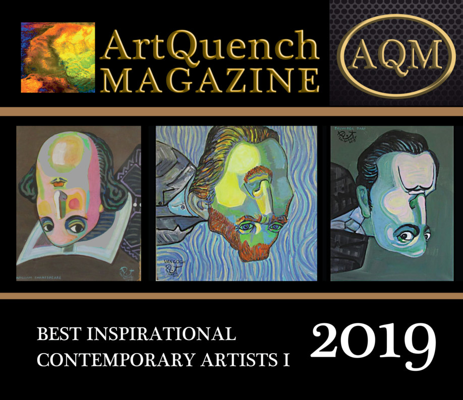 View ArtQuench Magazine Best Inspirational Contemporary Artists I by Stacia Gates