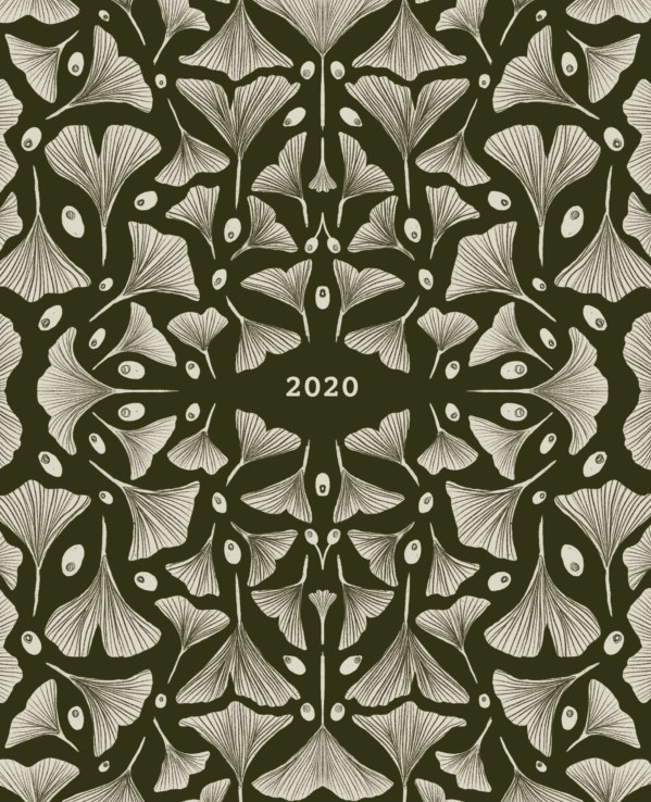 View 2020 Ginko Leaf Planner by Sarah Moore