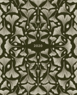 2020 Ginko Leaf Planner book cover