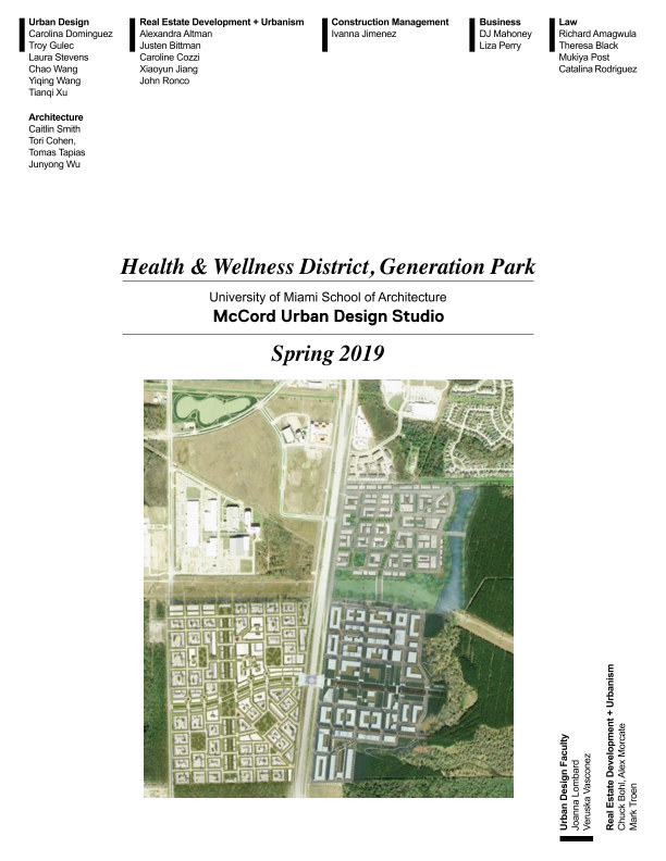 Bekijk Health and Wellness District, Generation Park op V. Vasconez, et al.