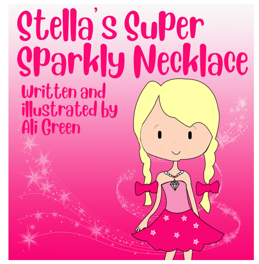 View Stella's Super Sparkly Necklace by Ali Green