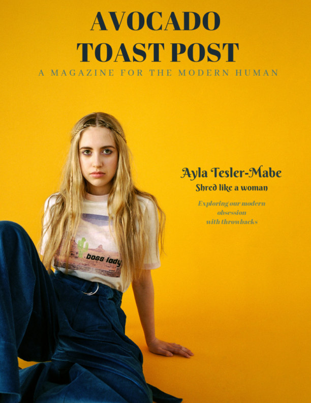 View Avocado Toast Post Issue NO.02    Ayla Tesler-Mabe by Avocado Toast Post