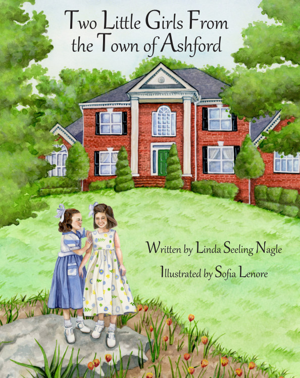 View Two Little Girls From the Town of Ashford by Linda Seeling Nagle
