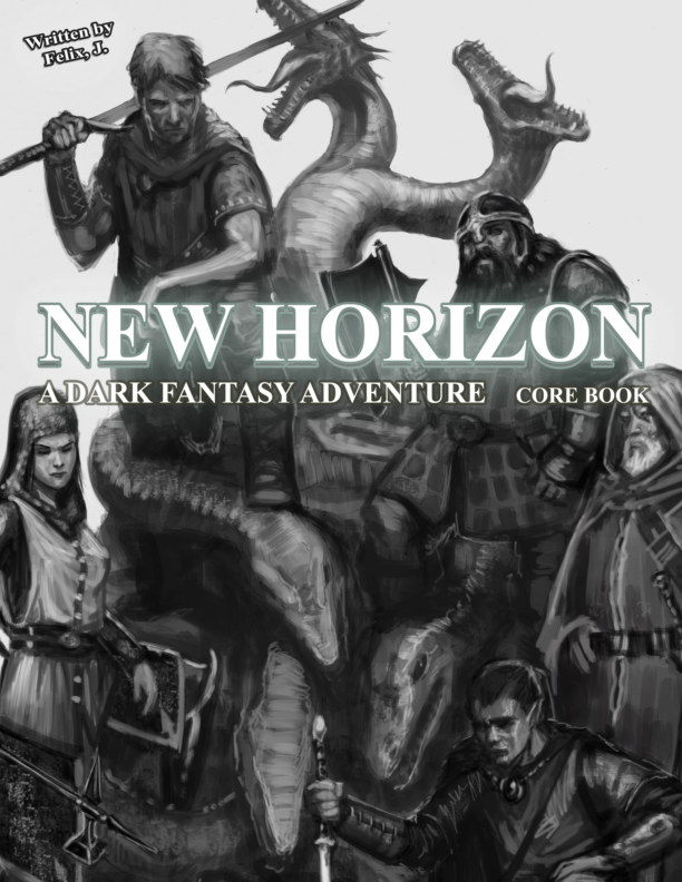 View New Horizon: All-In-One Core Book by Felix, J.
