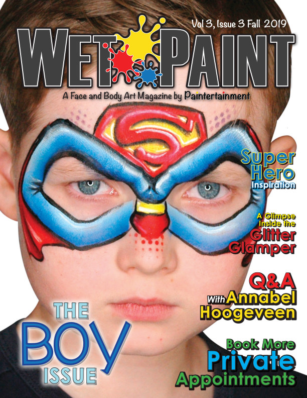 View Wet Paint Magazine Vol 3 Issue 3 Fall 2019 by Paintertainment, LLC