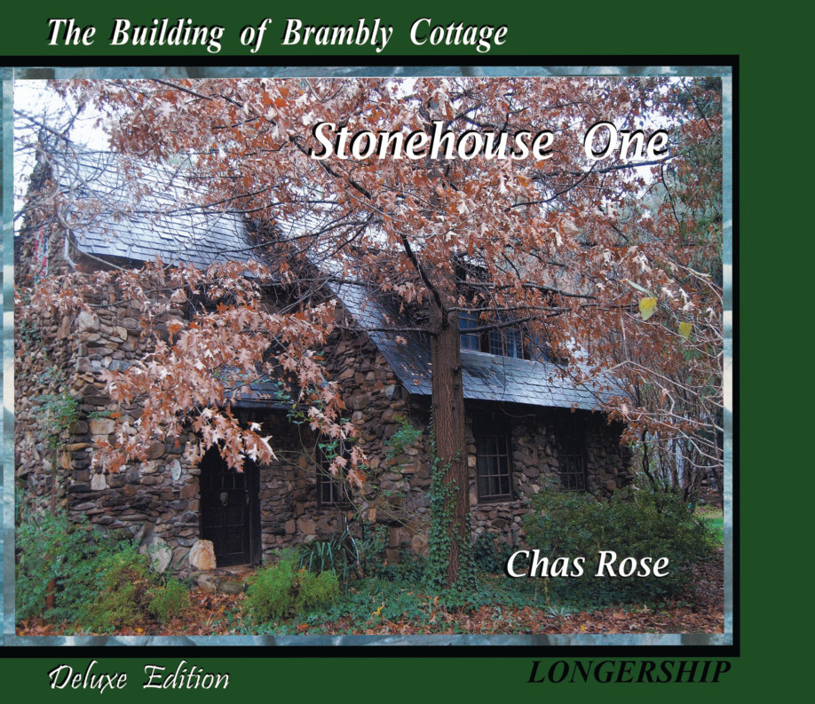 View Building Brambly Cottage by Chas Rose