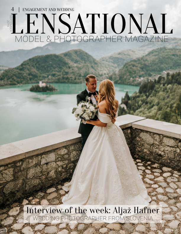 View LENSATIONAL Model and Photographer Magazine #4 Issue | Engagement and wedding - September 2019 by Lensational Magazine
